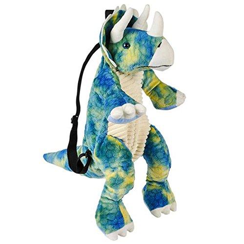 Animal Planet Plush Dinosaur Childrens Travel and Adventure Backpack Bag - Triceratops ()