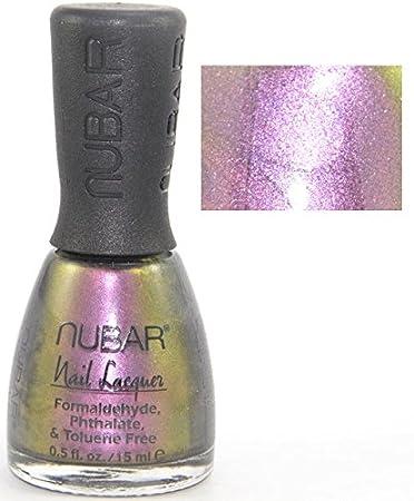 Amazon Com Nubar Nail Color S203 Purple Beach Nail Polish Beauty
