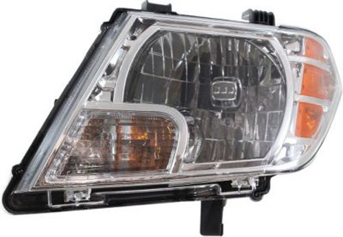 Crash Parts Plus Left Driver Side Headlight Head Lamp for 2009-2015 Nissan Frontier (Nissan Frontier Headlamp compare prices)