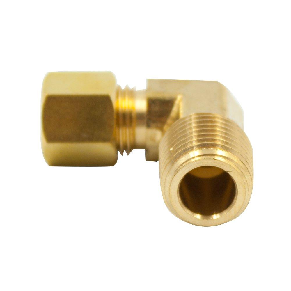 "1//2/"" Brass Compression Tubing Insert 50"