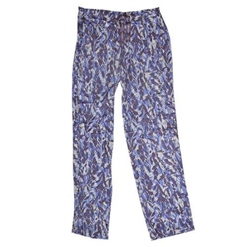 Calvin Klein underwear 0000S1614E, Pantalones de Pijama Para Mujer Morado (Garden Purity)
