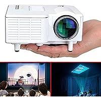 PAPE, Mini Home Cinema Theater 1080P HD Multimedia USB LED Projector AV TV VGA HDMI