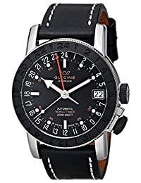 Glycine Men's 3927-191-LB9B Airman Analog Display Swiss Automatic Black Watch