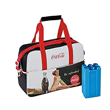 Coca Cola nevera Vintage 26 Be Refreshed con 2 acumuladores de 400 ...
