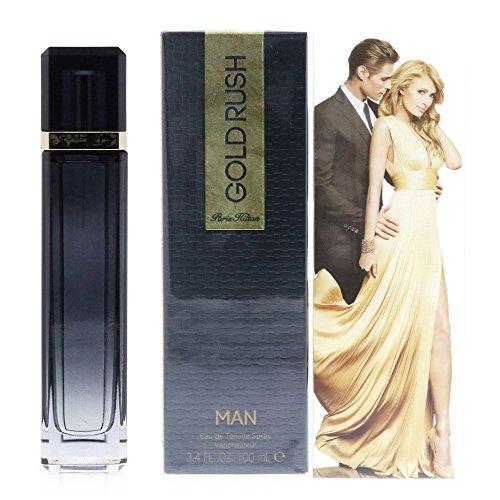 Gold Rush Man For Men 3.4 Fl oz EDT Spray By Paris Hilton, Black (137766077)