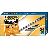 BIC vidrio Xtra Smooth - Bolígrafo, Azul, 24 unidades