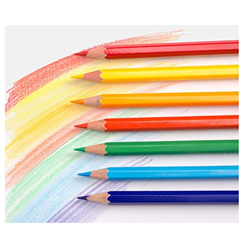 HHH Colored Pencils, Pack of 24 Assorted Colors, Pre-Sharpened