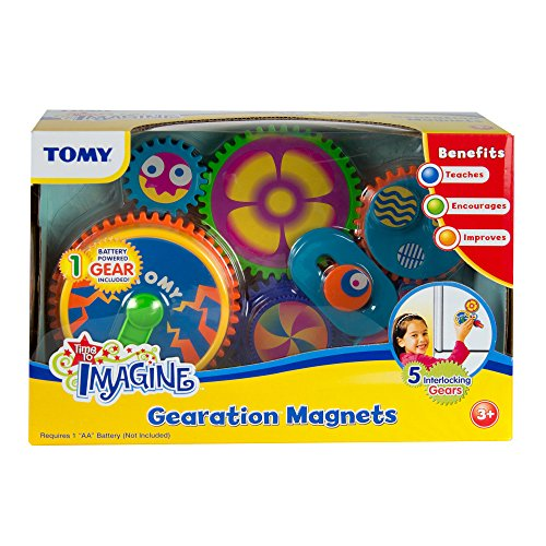 TOMY Gearation Refrigerator Magnets