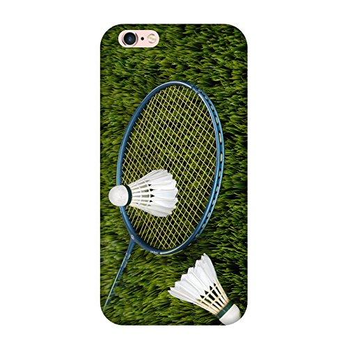 Coque Iphone 6-6s - Badminton Racquette Volant