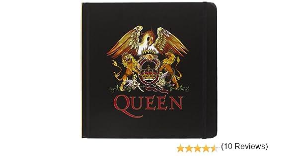 Queen Reina Notebook: Crest (Hard Back): Amazon.es: Oficina y papelería