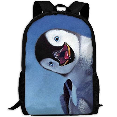 CY-STORE Animal Baby Funny Penguin Outdoor Shoulders Bag Fabric Backpack Multipurpose Daypacks For Adult by CY-STORE