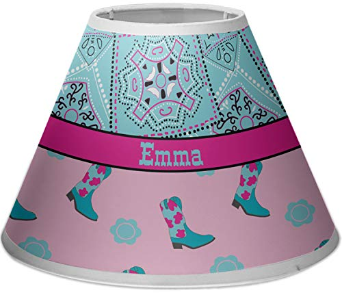 RNK Shops Cowgirl Empire Lamp Shade (Personalized)