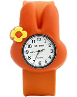 Cute Animal Bunny Kids Toddler Slip On Watches Packed in Gift Box