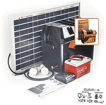 Kit Solar SOLARLIFE30i-30W-12v