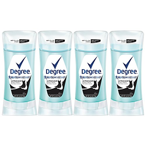Degree UltraClear Antiperspirant Deodorant, Black + White, 2.6 oz, 4 count by Degree (Image #7)