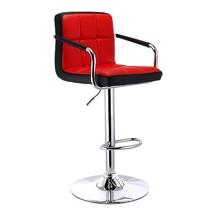Prime Amazon Com Mesurn Bar Stools With Chromed Framework 360 Machost Co Dining Chair Design Ideas Machostcouk