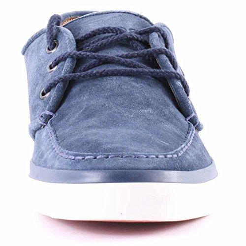 Lacoste Uomo Light Marrone Sevrin 7 SRM Scamosciato Sneaker Marina