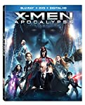 Cover Image for 'X-men: Apocalypse [Blu-ray + Digital HD]'