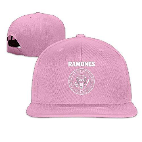 Metal Ramones (RobertJ.Rivera Unisex Women Mens Ramones Greatest Hits Travel Popular Sunbonnet Pink)