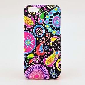 MOFY-Patr—n medusas caja colorida suave de TPU para el iPhone 5C