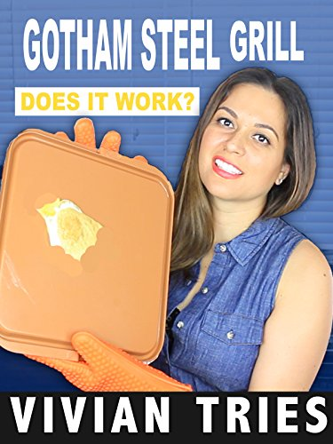 Review: Gotham Steel Grill - Does it - Titanium What It