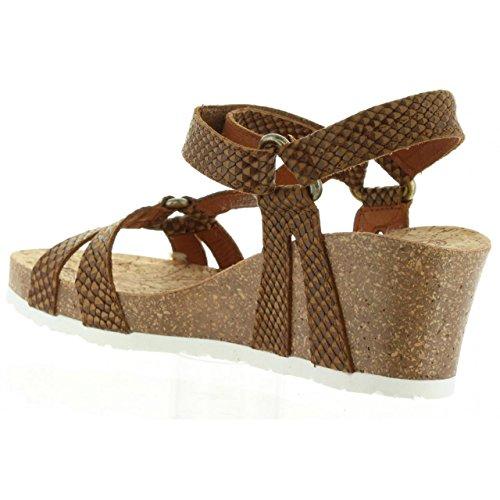 Sandales pour Femme PANAMA JACK VIOLETTA SNAKE B5 NAPA CUERO