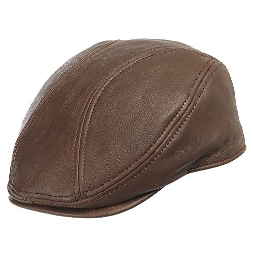 ROADMASTER DRIVING CLASSIC Leather Unique Ivy Caps Hat DRESS 7 1/4