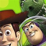 Disney Toy Story 3 Beverage Napkins ~ 16 3-D Effect Napkins