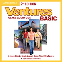 Ventures Basic Class Audio CDs (2)