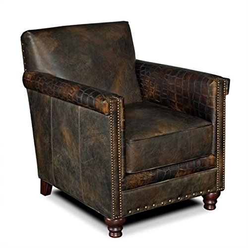 "Hooker Furniture CC719-01-089 Potter Club Chair, 34"" 28.5"" Brown from Hooker Furniture"
