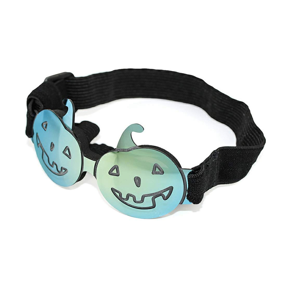 YUHAO Pet Sunglasses Halloween Funny Colorful Pumpkin Glasses Small and Medium Dogs Cats Apply,Colorful