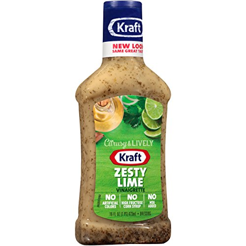 Kraft Zesty Lime Vinaigrette Dressing (16 oz Bottle)