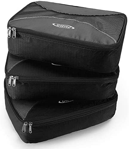 Wolf Space 3 Set Packing Cubes,2 Various Sizes Travel Luggage Packing Organizers c