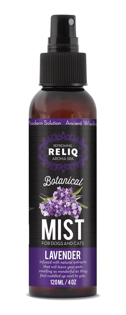 RELIQ Aroma SPA Lavender Botanical Mist for dogs and cats