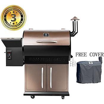 Amazon Com Camp Chef Smokepro Dlx Pg24s Pellet Grill