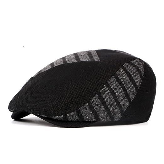 03878dac76b45 AET Cap Unisex Woolen Knitted Beret Hat Winter Warm Visor Hat Cap ...