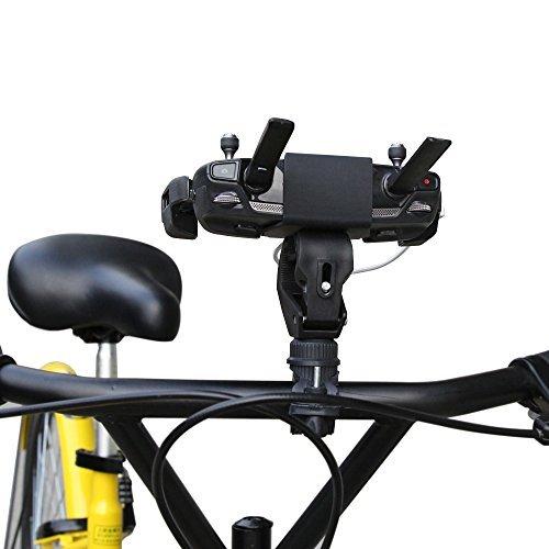 hibloks 360Giratorio Soporte para bicicleta Bike rack Clamp Soporte para Mavic Pro Controller, Negro