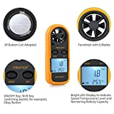 Proster Anemometers Handheld Wind Speed Meter