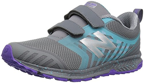 New Balance Kids' Fuelcore Nitrel Hook and Loop Trail-Runners