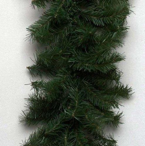 "Vickerman 100' x 10"" Unlit Canadian Pine Garland"