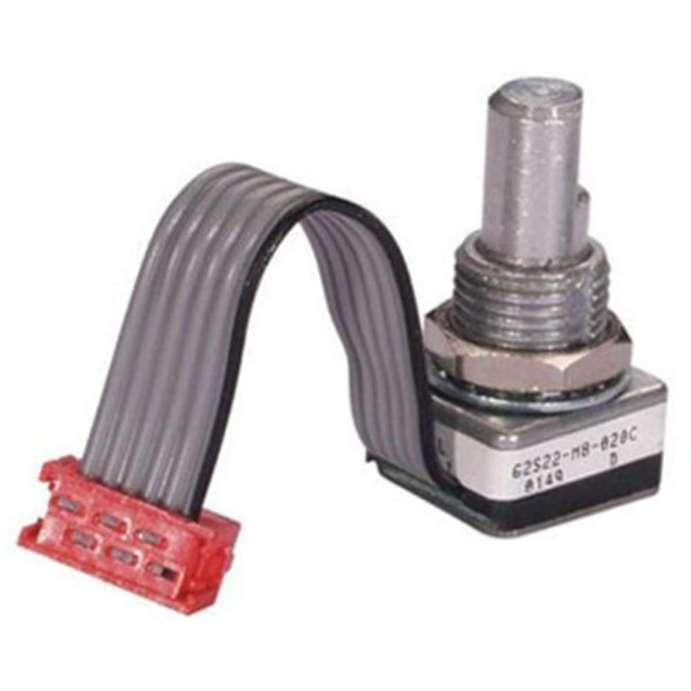 Encoder; 5.0Vdc Input; 15 or 24 Positions; w/o Pushbutton; 9 inch Cable