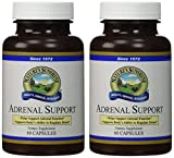 Naturessunshine Adrenal Support Immune System Support 60 Capsules (Pack of 2) For Sale