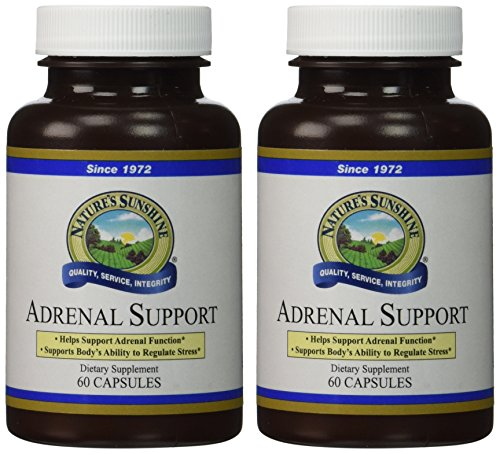 Naturessunshine Adrenal Support Immune System Support 60 Capsules (Pack of 2) -
