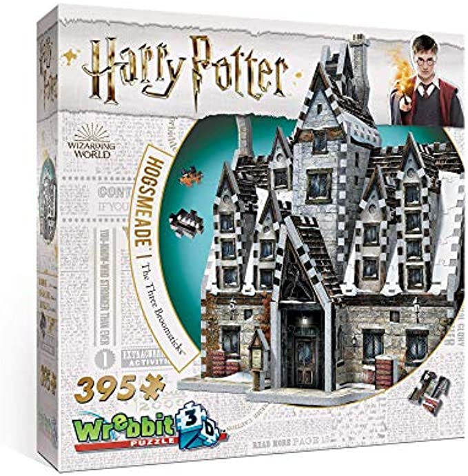 Wrebbit 3D - Harry Potter Hogsmeade The Three Broomsticks 3D Jigsaw Puzzle - 395 Pieces