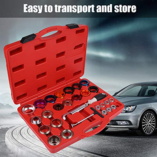 Keenso 27 Pcs Car Camshaft Crank Crankshaft Oil Seal Remover Installer Removal Tool Kit by Keenso (Image #8)