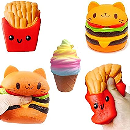 Jumbo Squishy Toys Children Slow Rising Antistress Toy Princess Squishies Stress Relief Toy Funny Squeeze Toy Novelty & Gag Toys