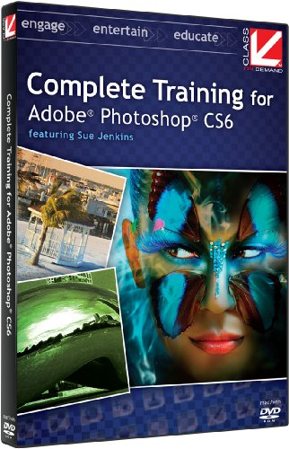 Class on Demand:  Complete Training for Adobe Photoshop CS6 Educational Training Tutorial with Sue Jenkins