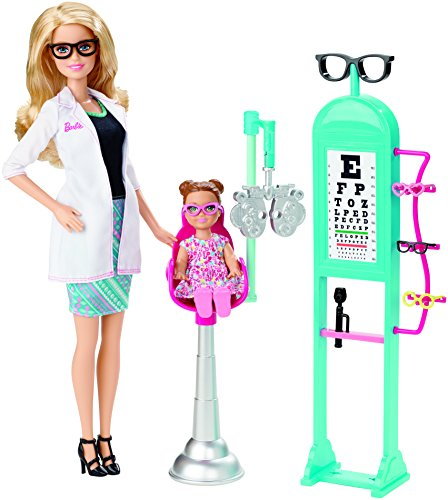Barbie Careers Eye Doctor Doll and Playset