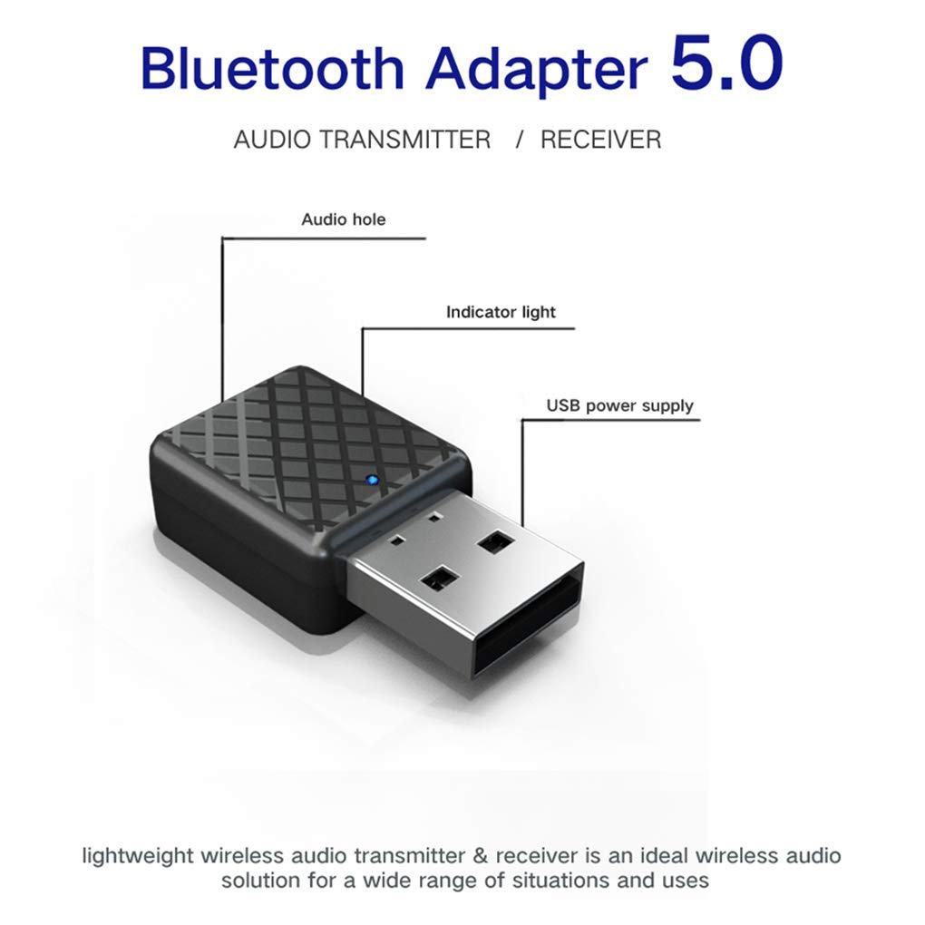 Boburyl 2 en 1 /émetteur Signal r/écepteur sans Fil Bluetooth Emetteur R/écepteur 5.0 Adaptateur TV Audio Radio Car Converter