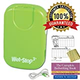 Wet-Stop3 Bedwetting Enuresis Alarm with Sound and Vibration, Comes in 3 Color Options, Curing Bedwetting For Over 35 Years